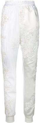 A.F.Vandevorst Wedding track pants