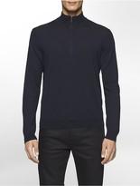 Calvin Klein Merino Quarter Zip Sweater