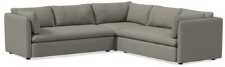 west elm Shelter 3-Piece L-Shaped Sectional