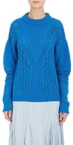 Prabal Gurung WOMEN'S CASHMERE MIXED-STITCH SWEATER