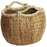 Pier 1 Imports Cooper Natural Oval Wicker Basket