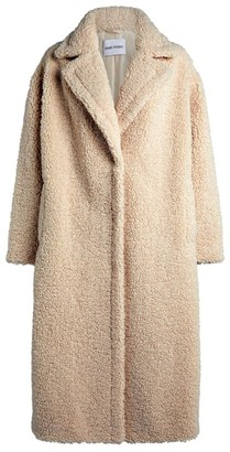 Stand Maria Long Teddy Coat