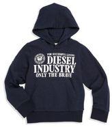Diesel Little Boy's & Boy's Graphic Hoodie
