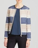 Armani Collezioni Jacket - Color Block Stripe