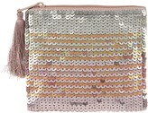 Accessorize Ombre Sequin Ziptop Purse