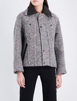 Craig Green Bounded speckled wool-blend jacket
