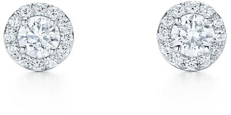 Tiffany & Co. Soleste earrings in platinum with diamonds