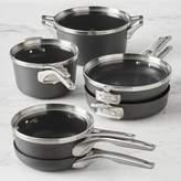 Calphalon Premier Space-Saving Hard-Anodized Nonstick 10-Piece Cookware Set