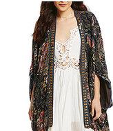 Free People Jaipur Embellished Kimono Jacket