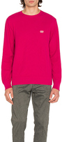 Obey New Times Drifter Sweater in Pink
