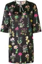 No.21 flower print shift dress