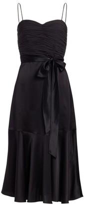 Cinq à Sept Vienna Bow Silk Dress