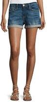 Frame Le Cutoff Cuffed Denim Shorts, Plummer