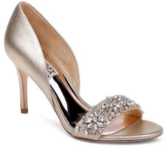 Badgley Mischka Women's Ivy Crystal High-Heel Sandals