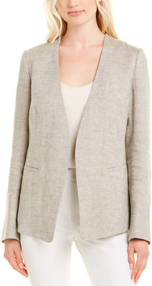 Lafayette 148 New York Dasha Linen Jacket