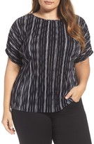 Vince Camuto Plus Size Women's Bodre Dolman Sleeve Top