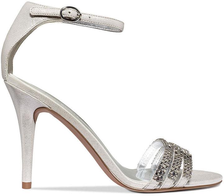 Nine West Sabrinna Ankle Strap Evening Sandals