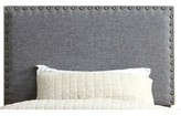 Fabio Upholstered Panel Headboard Darby Home Co Size: Twin, Color: Dark