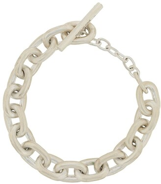 Parts Of Four Small Links Chain Bracelet