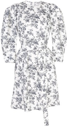 Jason Wu Floral Pattern Midi Dress