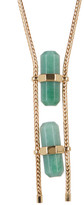 House Of Harlow Double Aventurine Necklace