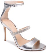 Badgley Mischka Rihanna II Embellished Stiletto Sandal