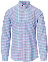 Big & Tall Polo Ralph Lauren Plaid Cotton Oxford Shirt