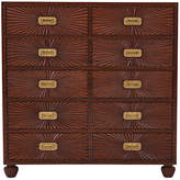 Ralph Lauren Home Modern Sands Dresser - Victoria Falls Mahogany