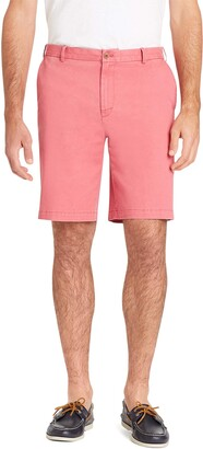 "Izod Men's Slim Fit Saltwater 8"" Flat Front Chino Short"