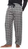 Chaps Big & Tall Plaid Flannel Lounge Pants