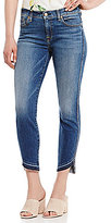 7 For All Mankind Roxanne Released Tulip Hem Ankle Skinny Jeans
