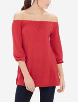 The Limited Off-The-Shoulder Peasant Shirt