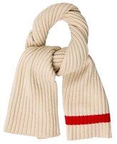 Celine Wool Rib Knit Scarf