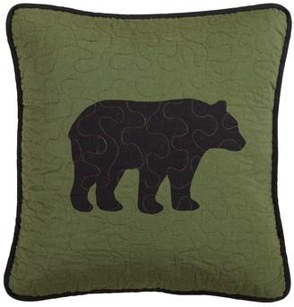 Donna Sharp Bear River Square Decorative Pillow