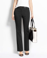 Ann Taylor Tall Curvy Cotton Sateen Straight Leg Pants