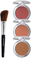 PUR Cosmetics Brighten & Bronze Blush Trio with Brush