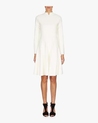 Emporio Armani A-Line Long Sleeve Dress