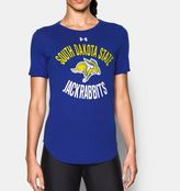 Under Armour Women's South Dakota State Charged Cotton® Short Sleeve T-Shirt