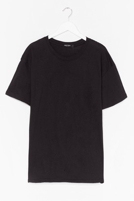 Nasty Gal Womens Wife of the Party Bridal Graphic Tee - Black - S