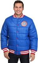 Marvel Captain America Proud Leader Puffy Jacket