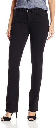 Yummie by Heather Thomson Women's Mid Rise Slimming Bootcut Denim Jeans