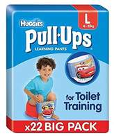 Huggies Large Pull-Ups Boy Economy 22 per pack - Pack of 6