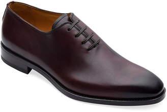 Paul Stuart Men's Lorenzo Whole-Cut Antiqued Leather Oxford Shoes