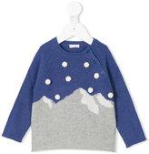 Il Gufo mountain intarsia knit jumper - kids - Wool - 2 yrs