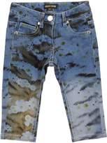 Roberto Cavalli Denim pants - Item 42585504