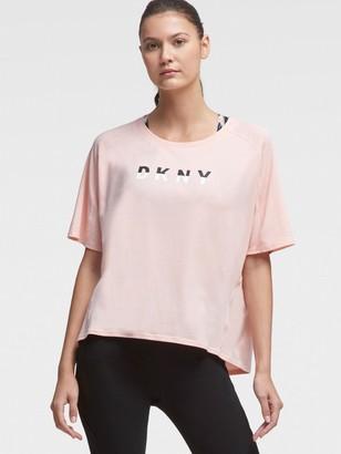 DKNY Oversized Rubber Logo Tee