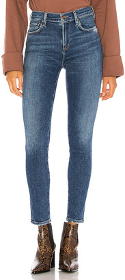 A Gold E Agolde AGOLDE Sophie Mid Rise Ankle Skinny. - size 23 (also