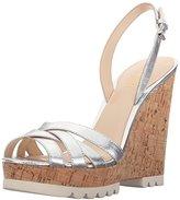 Nine West Women's Kindeyes Metallic Wedge Sandal