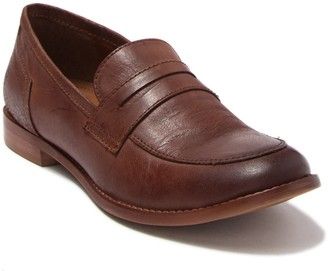 ROAN Evie Leather Moc Toe Loafer