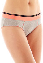 JCPenney Flirtitude Cotton Boykini Panty